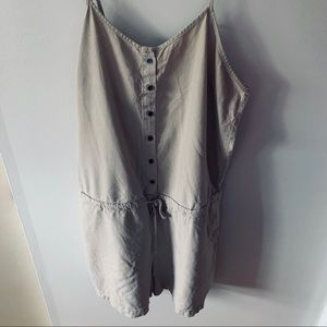 Light brown revamped romper. Good condition.